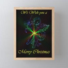 We Wish you a Merry Chistmas Framed Mini Art Print