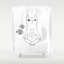 Catvana Shower Curtain