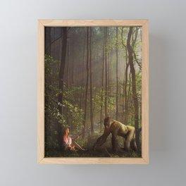The Encounter Framed Mini Art Print