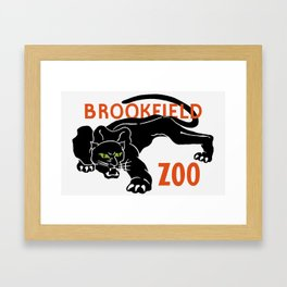 Brookfield Zoo -- WPA Framed Art Print