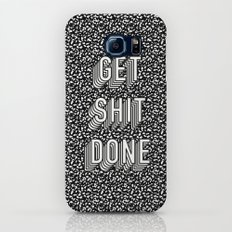 Get Shit Done Memphis Static Slim Case Galaxy S7