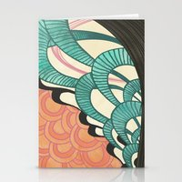 swim Stationery Cards featuring swim by Laura Graves