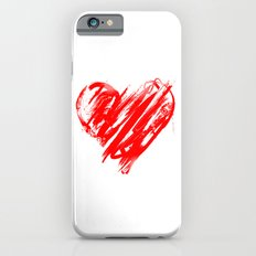 Valentine Heart Graffiti Slim Case iPhone 6s