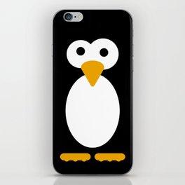 Minimal Penguin iPhone Skin