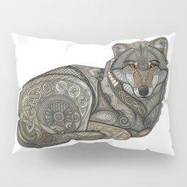 Norse Wolf Pillow Sham