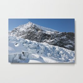 Mountain Glaciers Metal Print