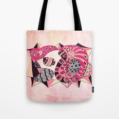 The hen waiting Tote Bag