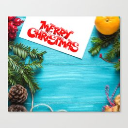 Watercolor Christmas 01 Canvas Print