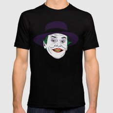 The joker LARGE Black Mens Fitted Tee