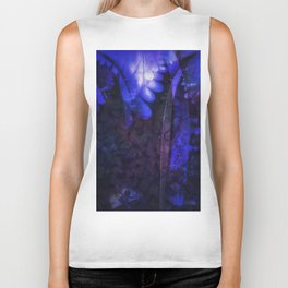 Magical moonlight in forest - An abstract version Biker Tank