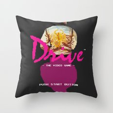 Drive Video Game Throw Pillow