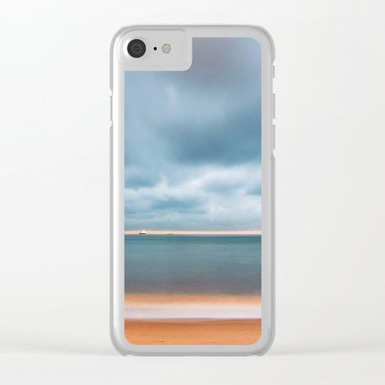 Sky Sea Light Clear iPhone Case