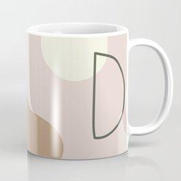 silence is deadly on ebony background Coffee Mug