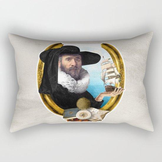 The Navigator's Dream Rectangular Pillow
