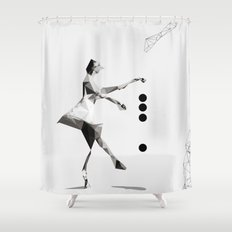 The tourist  Shower Curtain