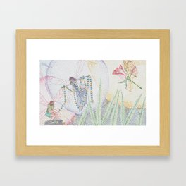 fairy jewel Framed Art Print