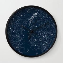 Star Inker Wall Clock