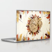mandie manzano Laptop & iPad Skins featuring Night Fall by LouJah