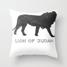 Lion (The Living Things Series) *special edition* Throw Pillow