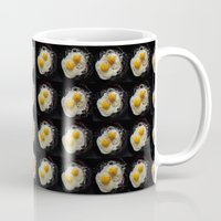 eggs Mugs featuring Eggs by Maansi Jain