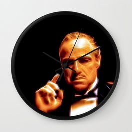 The Godfather - © Doc Braham; All Rights Reserved Wall Clock