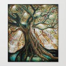 Radiant Oak Canvas Print
