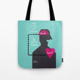 Head/Heart Tote Bag