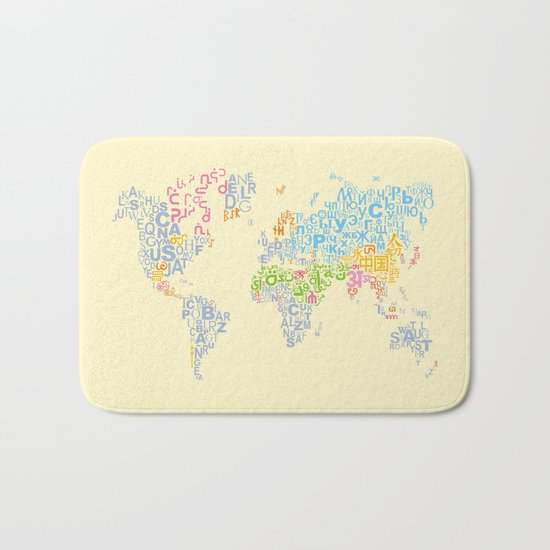 We Are All Writers Bath Mat