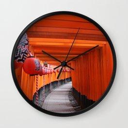Fushimi Inari-taisha Shrine Wall Clock