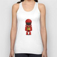 2001 a space odyssey Tank Tops featuring 2001 Space Odyssey Red Suit by Scientee