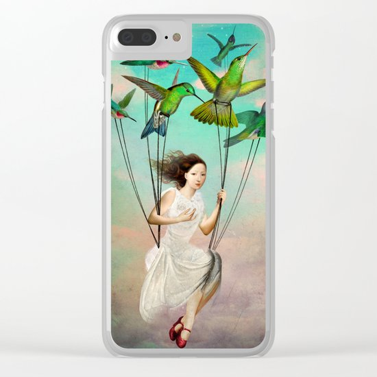 Take me somewhere nice Clear iPhone Case