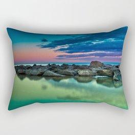 Ashbridges Bay Toronto Canada Sunrise No 12 Rectangular Pillow