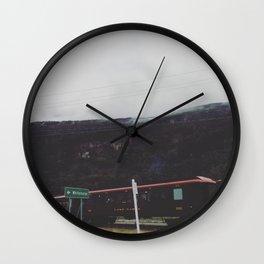 Alaska Train Wall Clock