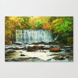 Autumns Chill Canvas Print