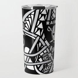 Polynesian Style Raiders Travel Mug