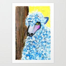 Baaaaa-aad Boy Art Print
