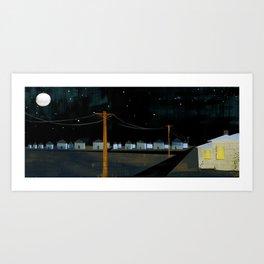 Night Landscape Art Print