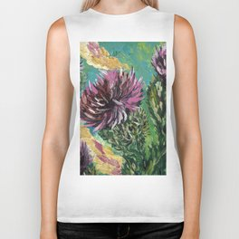 "Thumbnail of the painting ""Thistle"" Biker Tank"