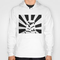 stormtrooper Hoodies featuring StormTrooper by Shelly Lukas Art