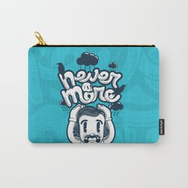 Edgar Allan Poe - Never More  Carry-All Pouch