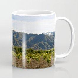 Ojai Valley With Snow Coffee Mug