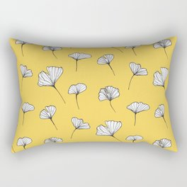 Ginkgo Biloba Leaves Pattern #society6 #decor #buyart Rectangular Pillow