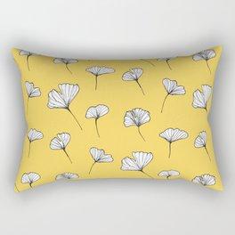 Ginkgo Biloba Leaves Pattern #society6 #decor #buyart Rectangular Pillow