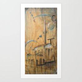 Seperate in Ages Art Print