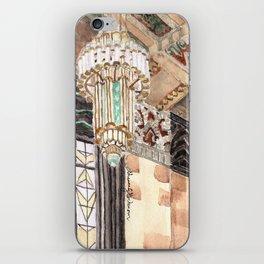 inside the Art Deco spaceship iPhone Skin