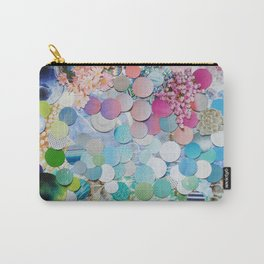 Blueberry Garden Carry-All Pouch
