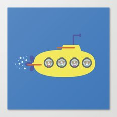 The Beagles - Yellow Submarine Canvas Print