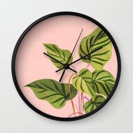 Upstart / Tropical Plant Wall Clock