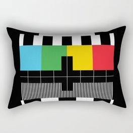 Television Test Pattern  Rectangular Pillow