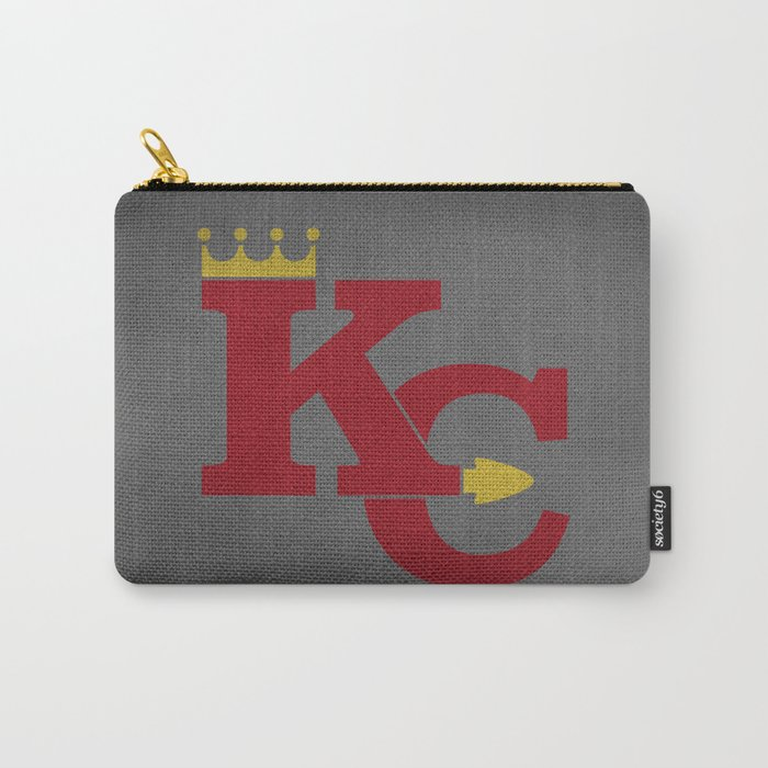 Kansas City Sports Red Carry-All Pouch